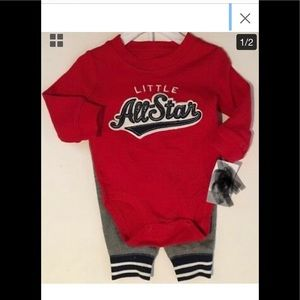 Carter's Baby Boy All Star 2 piece cotton